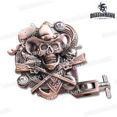 Relief Tattoo Machine 8 Wrap Coil Dual-coiled Tattoo Machine Liner Shader tattoo machine tattoo supply #Affiliate