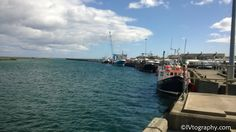View of Amble Harbour from the Radcliffe Quay - August 2013