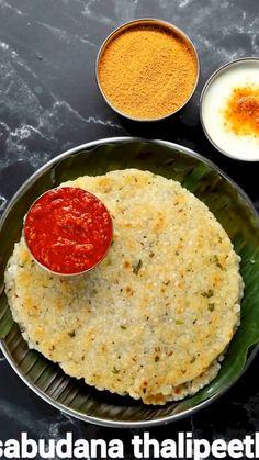 Sabudana Recipes, Puri Recipes, Paratha Recipes, Paneer Recipes, Spicy Recipes, Vegetarian Recipes, Cooking Recipes, Indian Veg Recipes, Indian Dessert Recipes