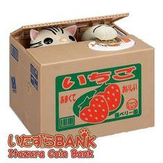 Itazura Coin Bank (American Shorthair)(Cat) - Hamee.com