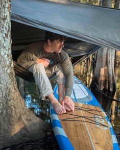 Photo by @CarltonWard // Fisheating Creek is one of the wildest waterways in Florida. Near the heart of the Everglades it is the last naturally flowing tributary to Lake Okeechobee. After a night hanging between cypress trees biologist Joe Guthrie steps from his hammock onto his paddleboard during a weeklong expedition exploring vital wildlife habitat. For more follow @carltonward @fl_wildcorridor #everglades #FloridaWild #keepflwild by natgeotravel