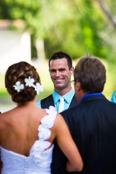 the groom's reactions are always the best!