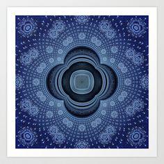 CenterViewSeries307 Art Print by fracts - fractal art - $16.00