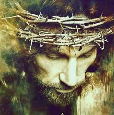 Jesus Christ crowned of Thorns on the Cross – Jesus – epoxyet Christ Tattoo, Jesus Tattoo, Christian Images, Christian Art, Jesus Christ Painting, Jesus Christ Drawing, Jesus Artwork, Jesus Crown, Tattoo Bauch