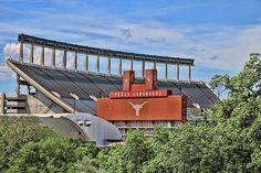 Darrell K Royal - Texas Memorial Stadium - Austin T X by Allen Beatty Longhorns Football, Football Fans, College Football, Seahawks Stadium, Some Pictures, Wood Print, Beach Towel, Texas, Framed Prints