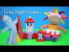 In the Night Garden Ninky Nonk Stacking Blocks Carriage and Upsy Daisy |...