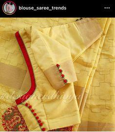 Patch Work Blouse Designs, Simple Blouse Designs, Stylish Blouse Design, Designer Blouse Patterns, Fancy Blouse Designs, Bridal Blouse Designs, Blouse Neck Designs, Blouse Simple, Simple Designs