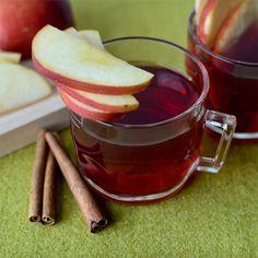 All-American Super Bowl Punch  INGREDIENTS:  •6 Cinnamon sticks  •25 Whole cloves  •1 tsp Whole allspice berries  •1 (750-mL) bottle 100-proof Bottled in bond bourbon  •1 (750-mL) bottle Laird's Apple Brandy  •25 oz Ruby red grapefruit juice  •25 oz Honey  •10 oz Sweet tea  •Garnish: 1 apple, cored and sliced  •Glass: Punch  http://liquor.com/articles/all-american-super-bowl-punch/