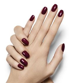 Wicked - Deep Dark Red Nail Polish Manicure - Night Out Look by Essie