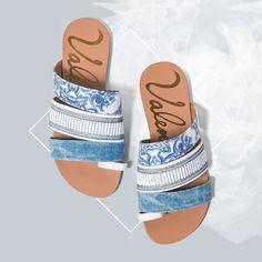 Flat super estilosa! #ValentinaFlats #shoes #fashion #loveit #loveshoes #shoeslover #sapatilha #bordado #look #hair