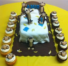 No more monkeys jumping on the bed cake