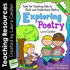 Exploring Poetry: Tools for Teaching Kids to Read and Understand Poetry is a 2-part introduction to poetic devices and interpreting poetry. The first part includes a collection of activities for introducing the basic elements of poetry, and the second part is devoted to reading and responding to poetry.
