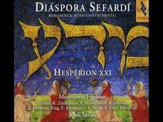 Jordi Savall | Improvisation on Axerico | Diaspora Sefardi | Viola da gamba | Romances + Instrumentals
