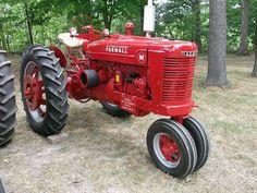 1939 Farmall type M tractor