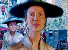 🌻 Claire 🌻 #outlander .  .  .    #outlanderseries #outlanderfans #outlanderobsessed #tags4likes #jaimefraser #clairefraser #love #like #samheughan #caitrionabalfe #digitalart #fanart #digitalfanart #droughtlander #outlanderseason2 #smile #artwork