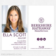 Berkshire hathaway home services business cards always includes set berkshire hathaway home services business cards always includes set up shipping and tax a graphics designer sets your business card just the w colourmoves