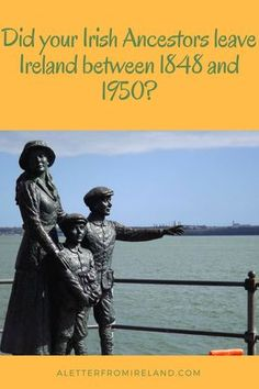 When did your Irish Ancestor leave Ireland? In my own case, 5 of my uncles left for a better life – but when I look at our extended family starting in 1874 – over 75 moved or are currently living outside Ireland! Free Genealogy Sites, Family Genealogy, Genealogy Search, Genealogy Forms, Family Tree Research, Ancestry, Family History, Extended Family, Better Life