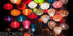 Lồng đèn lụa truyền thống mùa trung thu