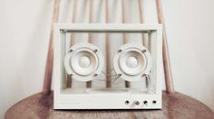 Small Transparent Speaker is a cheaper, smaller transparent speaker