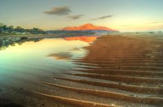 Whiting Bay in the unexpected Autumn sun.. pic. Fraser Aitchison