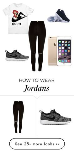 """Untitled #386"" by kendal-h on Polyvore featuring moda, NIKE i River Island"