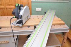Мобильный верстак MFTC Festool Kapex, Workbench Designs, Woodworking Shop, Tool Box, Home Appliances, Iron, Wood Working, Projects, Wood