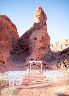 11 Ceremony Locations Will Take Your Breath Away A Valley of Fire Nevada State Park Wedding in Overton, Nevada Valley Of Fire State Park, Wedding Locations, Wedding Venues, Wedding Ideas, Wedding Ceremony, Wedding Planning, Wedding Inspiration, Wedding Sparklers, Event Planning