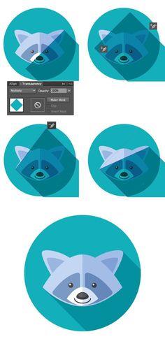Create a Long Shadow Icon - Adobe Illustrator Graphisches Design, Graphic Design Tutorials, Graphic Design Inspiration, Tool Design, Vector Design, Adobe Illustrator Tutorials, Photoshop Illustrator, Do It Yourself Design, Inkscape Tutorials