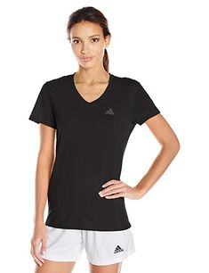21ceda954a737 adidas Women s Training Ultimate Short Sleeve V-Neck Tee Review Adidas  Sport