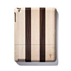 Dark Striped Walnut iPad Case  By Jonathan Boos