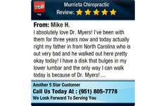 I absolutely love Dr. Myers! I've been with them for three years now and today actually...