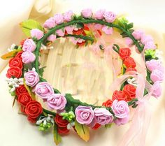 fashion Azalea Flower Hair Band Headband Hair Clip Garland Beach Girl Accessory