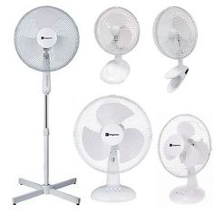 ELECTRIC OSCILLATING FANS HOME OFFICE USE COOLING   Our Price: £8.89