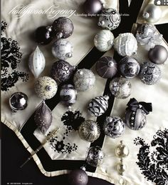 b w silver christmas decorations silver christmas tree silver ornaments christmas 2017 - Christmas Black And White