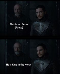 Best Scene. Game of thrones season 7 funny quotes. Jon Snow, Ser Davos Seaworth, Kit Harington #ad