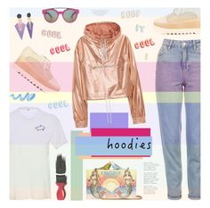 """""""Heads Up! Cute Hoodies!"""" by bklana ❤ liked on Polyvore featuring Topshop, Bliss and Mischief, Sarah's Bag, STELLA McCARTNEY, Givenchy, Avon and bklana"""