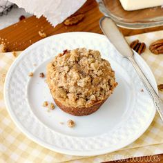 Browned Butter Toasted Pecan Muffins