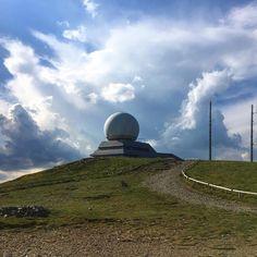 #grandballon #alsace #hautevosges #radar #station #strange #architecture #summit #clouds #hiking #designbutik #ontheroadagain