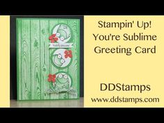 Stampin' Up! You're Sublime~ Toadally Awesome! - DDStamps with Diane Dimich, Stampin' Up! Demonstrator
