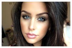 Neutral Makeup Look: Winged Liner (Fishtail Braid Makeup look)