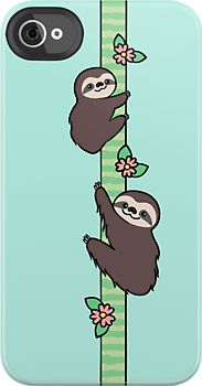 Sloth iPhone case. I need this so bad.