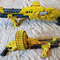 Dab guns of nerf Cosplay Weapons, Weapons Guns, Nerf Snipers, Modified Nerf Guns, Nerf Games, Cool Nerf Guns, Nerf Mod, Lego Craft, Custom Guns