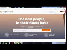 How to register on Peopleperhour(earning from internet)