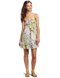 dbdfb3e4822 O Neill Juniors Mahalo Strapless Dress