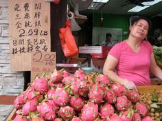 Dragon Fruit China Town NYC