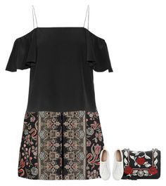 """Untitled #10109"" by fanny483 ❤ liked on Polyvore featuring Valentino, Fendi, Miu Miu and Mint Velvet"