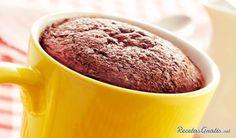 Receta de Torta de chocolate en taza