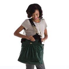 It's so easy. Miche allows you to change your look in seconds! *Miche Canada* #michecanada #michefashion #fashion #style #purses #handbags #accessories