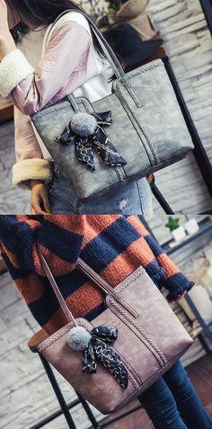 0d66e04a27 Retro Girl s PU Whole Color Sewing Thread Weave Shoulder Bag Handbag   handbag  fashion