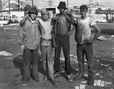 Dave Jordano - Four Carney workers, Detroit, Sept 4, 1973